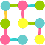 Dots And Lines Icon