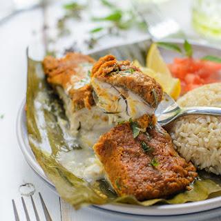 Cambodian Fish Amok en Papillote Recipe