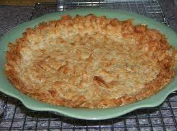 Coconut Pie Crust Recipe