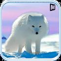 Arctique renard simulateur 3D icon