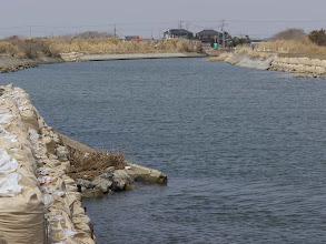 Photo: 木戸川河口近く。