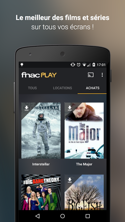 FnacPLAY- screenshot