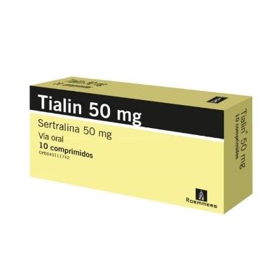 sertralina tialin 50 mg x 10 comprimidos roemmers 50 mg x 10 comprimidos