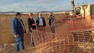 El subdelegado del Gobierno en Almería visita las obras.