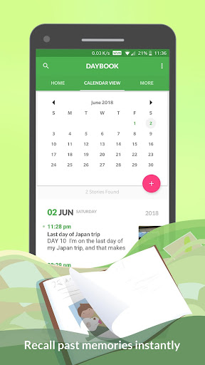 Daybook - Diary, Journal, Note 4.7.28 screenshots 2