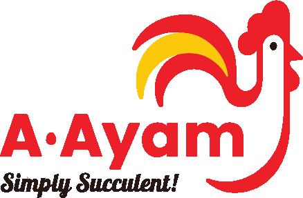 A.Ayam Restaurant Official Logo