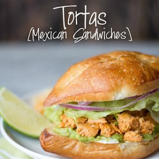 Tortas- Mexican Sandwiches.
