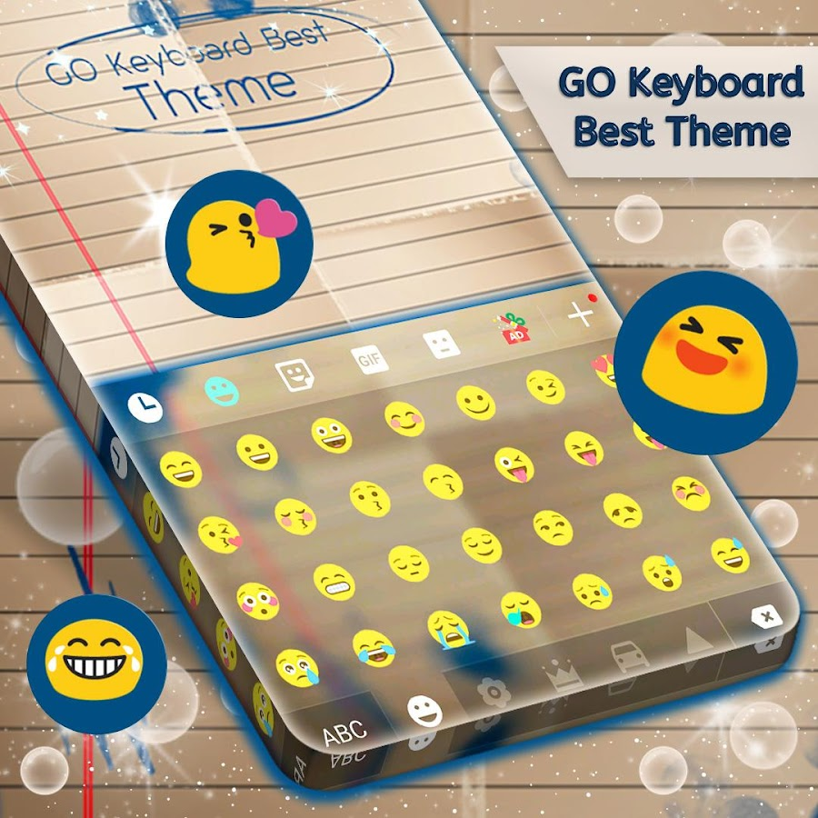 Best themes for gmail account - Best Theme For Go Keyboard Screenshot