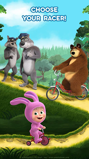 Masha and the Bear: Climb Racing and Car Games 0.0.3 screenshots 2