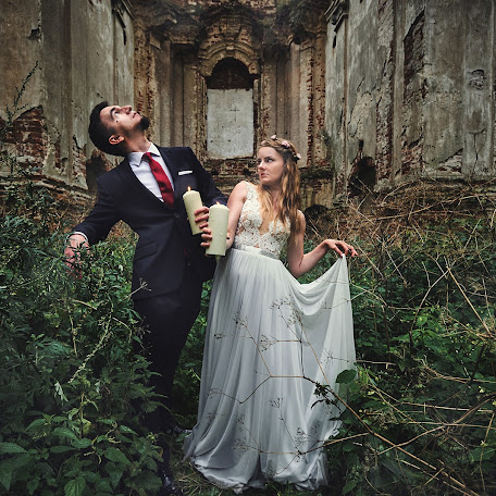 Wedding photographer Grzegorz Ciepiel (ciepiel). Photo of 31.10.2017