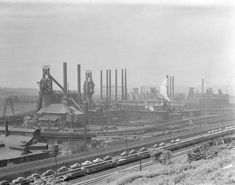 Pittsburgh steel plant
