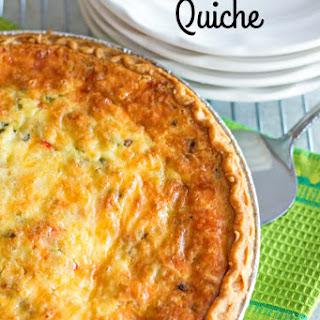 Western Omelet Quiche Recipe