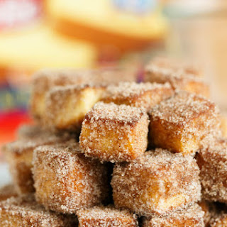 Apple Spice Cinnamon Sugar Pound Cake Bites