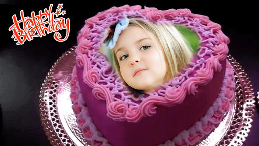 Screenshot For Birthday Cake Frames In United States Play Store
