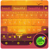Twilight Landscape Keyboard