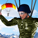 Sky Dive Parachute Stunts icon