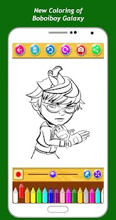 Best Coloring Kids Game Boboiboy - náhled