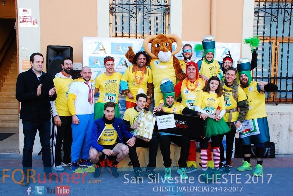 Fotos San Silvestre Solidaria Cheste 2017
