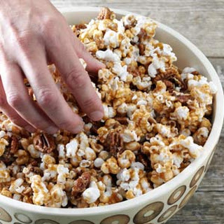 Maple Crunch Popcorn.