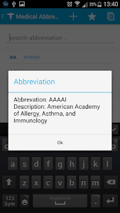 Medical Abbreviations Pro screenshot 2