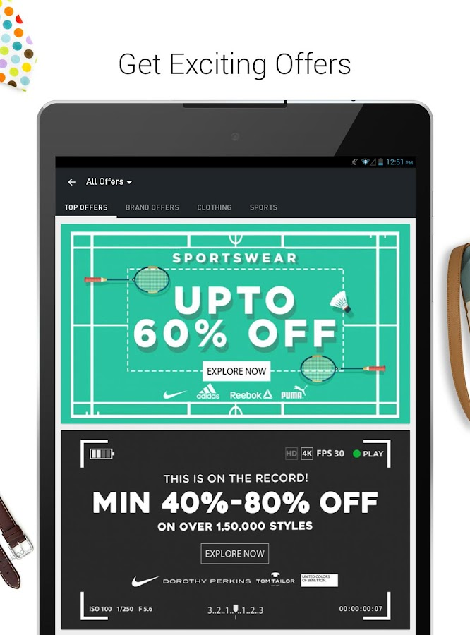 Jabong - ONLINE FASHION STORE- screenshot