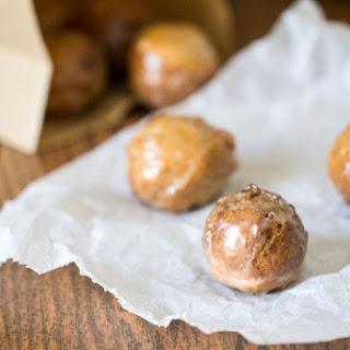 Pecan Coffee Donut Holes