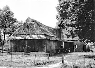 Photo: Kerkstraat 26, de schuur is eind jaren dertig afgebroken