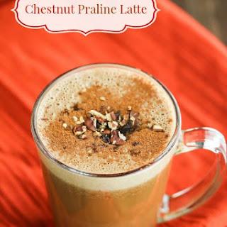 Dairy-Free Chestnut Praline Latte