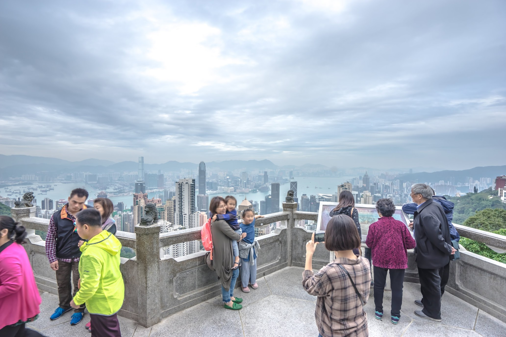 香港 ビクトリア・ピーク 獅子亭展望台1