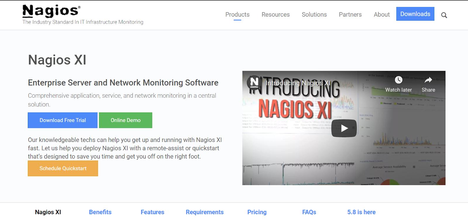 LAN Monitoring Tools - Nagios