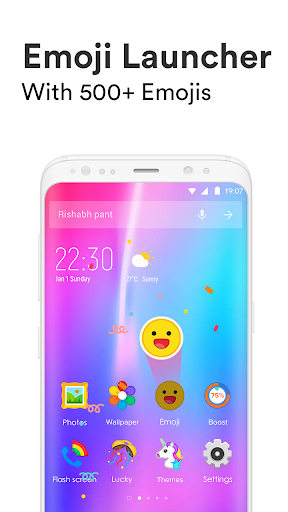 Emoji Launcher - Stickers & Themes 1.2.3 screenshots 1