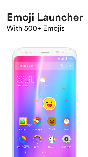 Emoji Launcher - Stickers & Themes Android App Screenshot