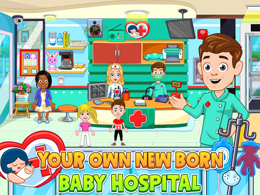 My City : Newborn baby - screenshot