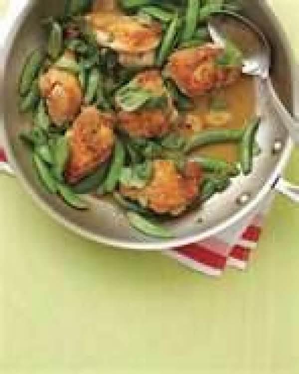 Snap Da Peas & Chicken Recipe