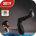 Daily Workout Plan & Routines – Home Workout Guide icon