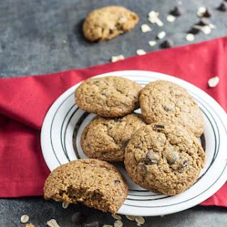 Chocolate Chip Cookies (Vegan + Gluten Free)