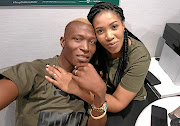 Tendai Ndoro and wife  Thando have hit some   stormy seas.