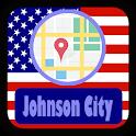 USA Johnson City Maps icon