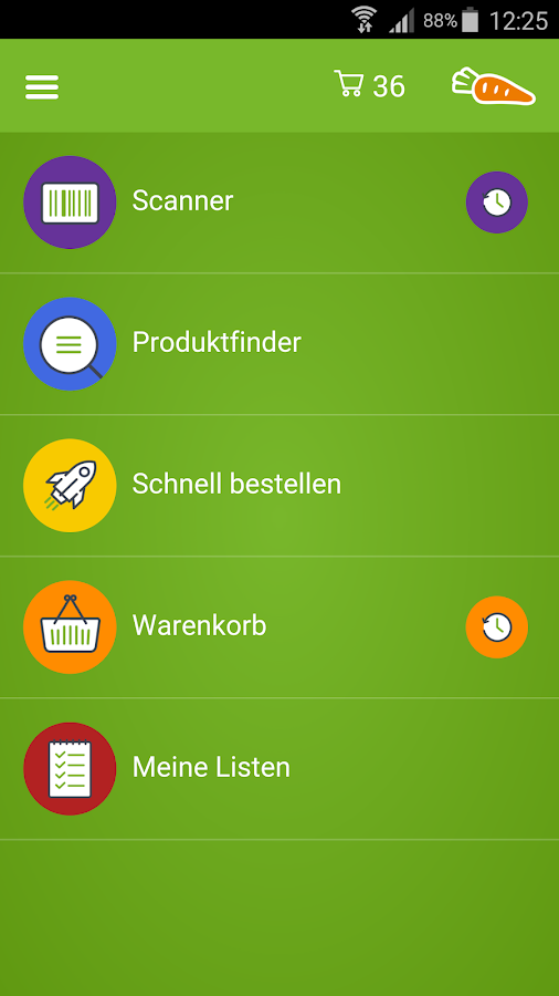 FoodNotify Business – Screenshot