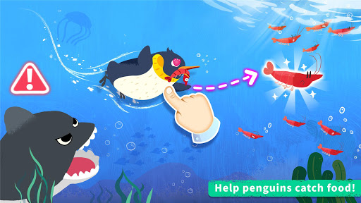 Little Panda's Penguin Run Screenshot