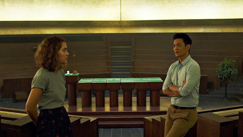 Fotograma de Columbus, la película que abre el Cineclub esta primavera.