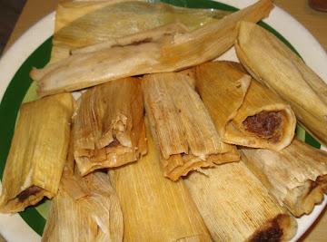 Mexican Tamales,tamales Mexicanos De Puerco Recipe