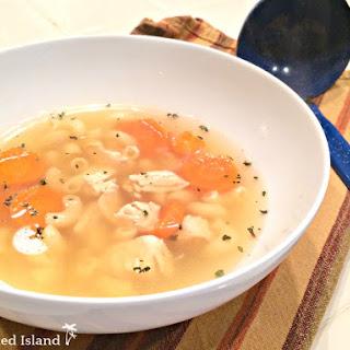 Chicken Soup with Rotisserie Chicken.