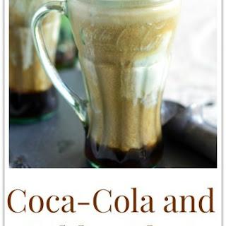Coca-Cola and Kahlua Float.