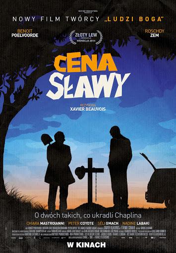 Polski plakat filmu 'Cena Sławy'