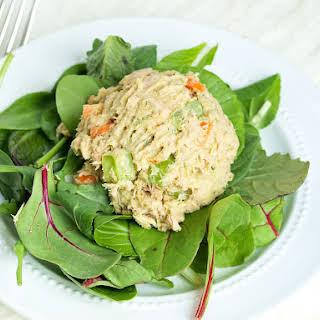 Avocado Tuna Salad (No Mayo).