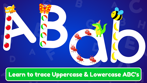 ABC Tracing & Phonics for Preschoolers & Kids Game Apk 1