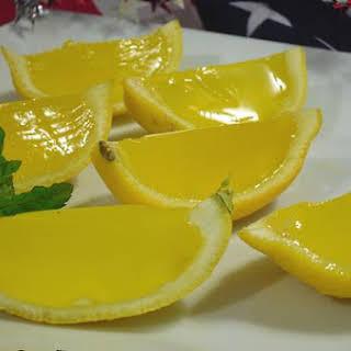 Lemon Drop Jello Shots.
