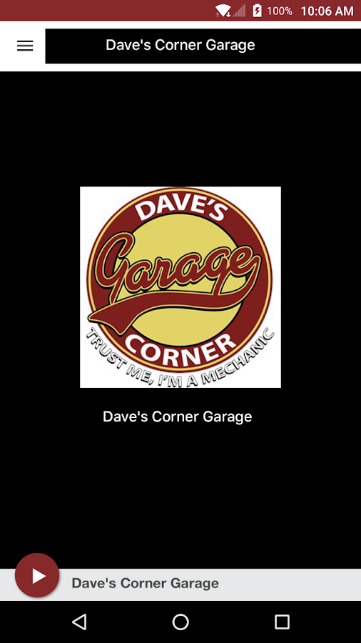Dave's Corner Garage- screenshot