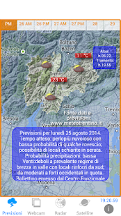 METEO TRENTINO Screenshot